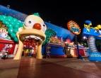 simpsons-ride-universal-studios-florida-night